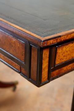 George Bullock Regency Burl Yew and Ebony Writing Table - 1854874