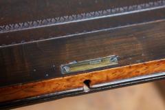 George Bullock Regency Burl Yew and Ebony Writing Table - 1854875