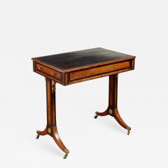 George Bullock Regency Burl Yew and Ebony Writing Table - 1856106