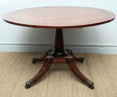 George Bullock Regency Burr Oak Breakfast Table - 267773