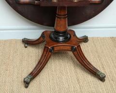 George Bullock Regency Burr Oak Breakfast Table - 267779