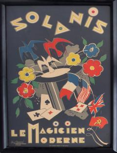 George Cond French Art Deco Poster by George Conde - 529597