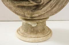 George Garrard Georgian Marble Bust of Baronet Montagu Roger Burgoyne - 1988404