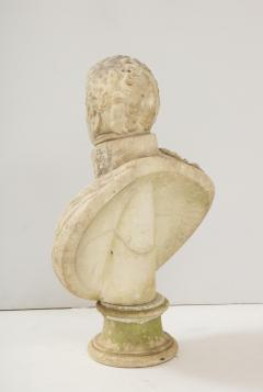 George Garrard Georgian Marble Bust of Baronet Montagu Roger Burgoyne - 1988408