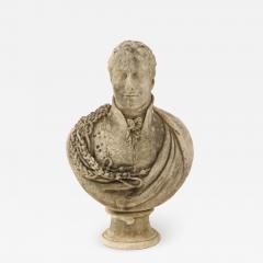 George Garrard Georgian Marble Bust of Baronet Montagu Roger Burgoyne - 1988917