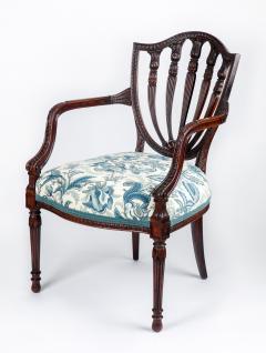 George Hepplewhite George III style armchair in the Hepplewhite manner - 2042102