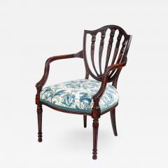 George Hepplewhite George III style armchair in the Hepplewhite manner - 2043737
