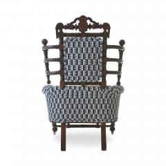 George Hunzinger Late 19th c Renaissance Revival Walnut Arm Chair by George Hunzinger - 1582078