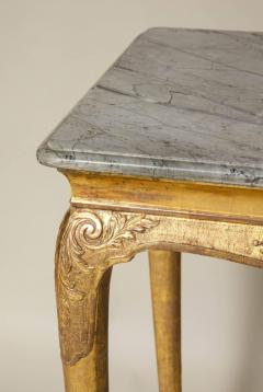 George I Gesso Carved Marble Top Table - 663755