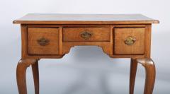 George I Oak Three Drawer Table - 1809152