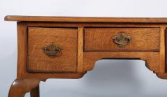 George I Oak Three Drawer Table - 1809153