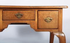 George I Oak Three Drawer Table - 1809154