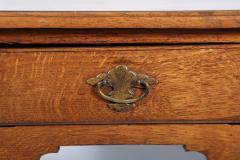 George I Oak Three Drawer Table - 1809155
