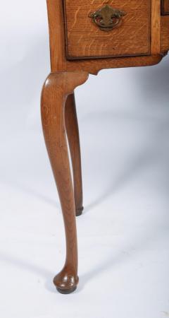 George I Oak Three Drawer Table - 1809156