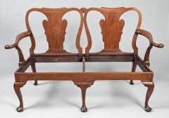 George I Walnut Double Chair Back Settee - 1237100