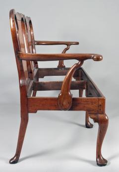 George I Walnut Double Chair Back Settee - 1237102
