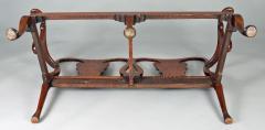 George I Walnut Double Chair Back Settee - 1237105