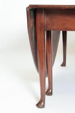 George II Mahogany Dining Table with Spanish Feet - 1983806