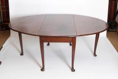 George II Mahogany Dining Table with Spanish Feet - 1983814