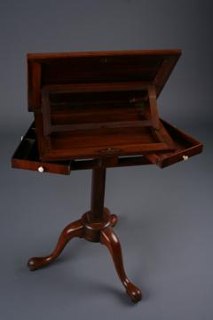 George II Padouk Extended Reading Stand England ca 1740 - 884688