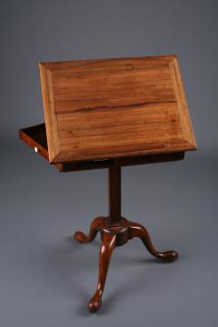 George II Padouk Extended Reading Stand England ca 1740 - 884691