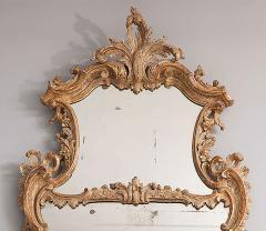 George II Rococo Giltwood Two Plate Mirror - 263378