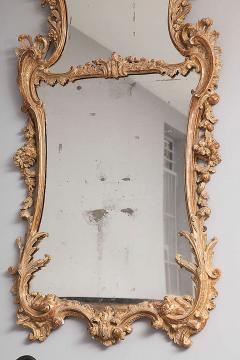 George II Rococo Giltwood Two Plate Mirror - 263379