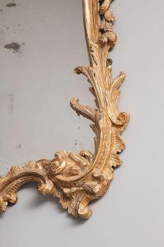 George II Rococo Giltwood Two Plate Mirror - 263380