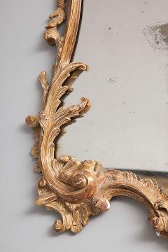 George II Rococo Giltwood Two Plate Mirror - 263383
