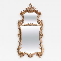 George II Rococo Giltwood Two Plate Mirror - 263806