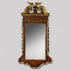 George II Scrolled Arch Parcel Gilt Mirror - 580717