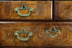 George II Walnut Bachelors Chest of Drawers - 1521981