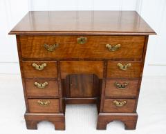 George II Walnut Kneehole Desk - 1867707