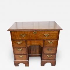 George II Walnut Kneehole Desk - 1873629