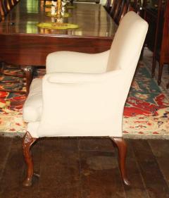 George II Walnut Legged Armchair - 1466619