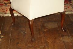 George II Walnut Legged Armchair - 1466621