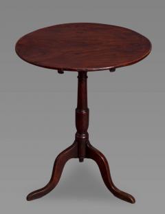 George III Elm and Oak Tripod Table - 930316