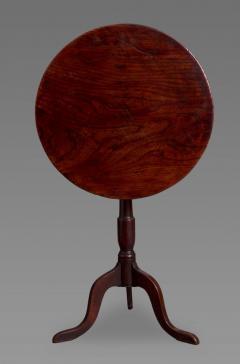 George III Elm and Oak Tripod Table - 930318