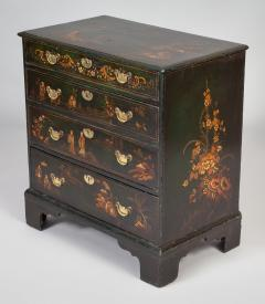 George III Japanned Chest of Drawers - 1198027