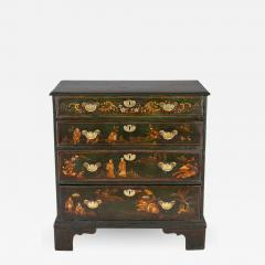George III Japanned Chest of Drawers - 1198962