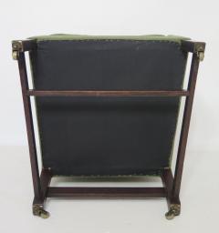 George III Library Chair with Marlborough Legs - 1912662
