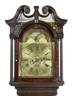 George III Mahogany Longcase Clock by William Taylor of Whitehaven Cumbria - 1568338