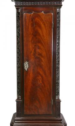George III Mahogany Longcase Clock by William Taylor of Whitehaven Cumbria - 1568355