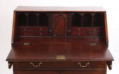 George III Mahogany Slant Front Desk c 1760 70 - 2048534