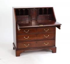 George III Mahogany Slant Front Desk c 1760 70 - 2048538