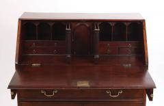 George III Mahogany Slant Front Desk c 1760 70 - 2048540