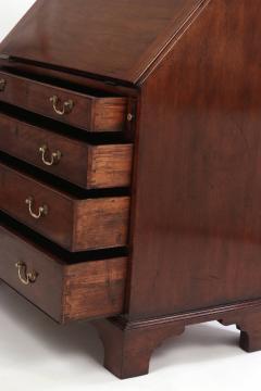 George III Mahogany Slant Front Desk c 1760 70 - 2048542