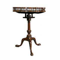 George III Mahogany Tilt Top Tea Table - 1532645