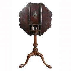 George III Mahogany Tilt Top Tea Table - 1532655