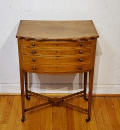 George III Mahogany Work Table circa 1790 - 1296746